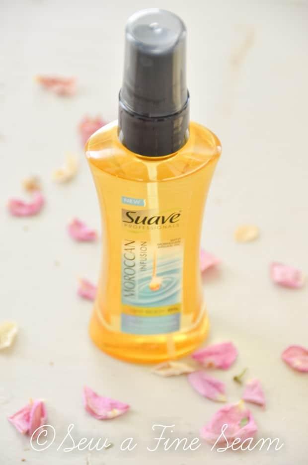 suave body oil