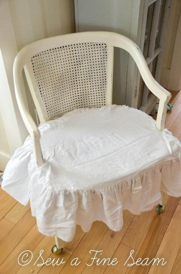 milk painted desk chair-10