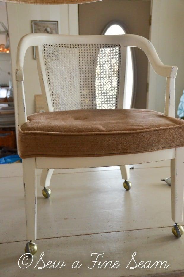 milk painted desk chair-11