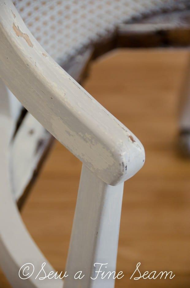 milk painted desk chair-5