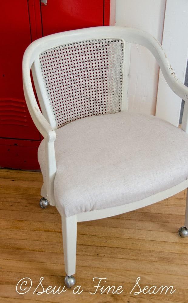milk painted desk chair-8