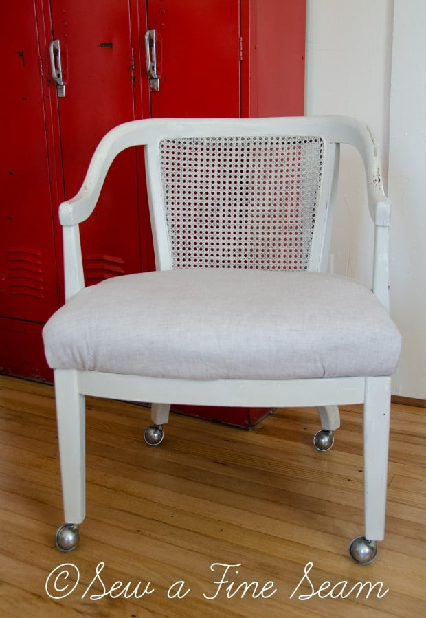 milk painted desk chair-9