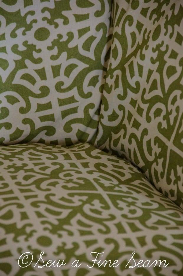 Slipcoverd Chair In Sunbrella Fabric 3