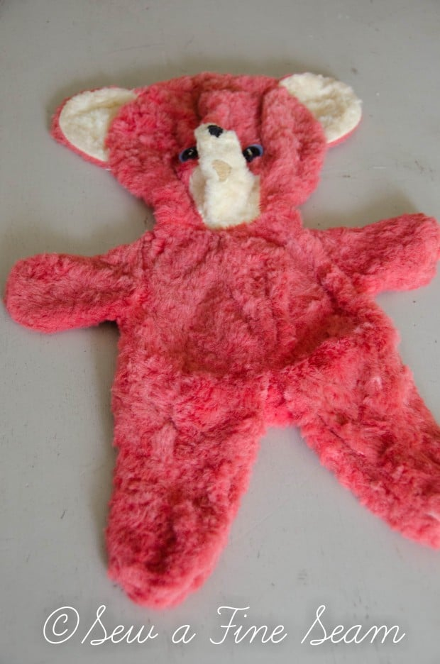 how to clean and restuff a vintage stuffed toy (13 of 28)