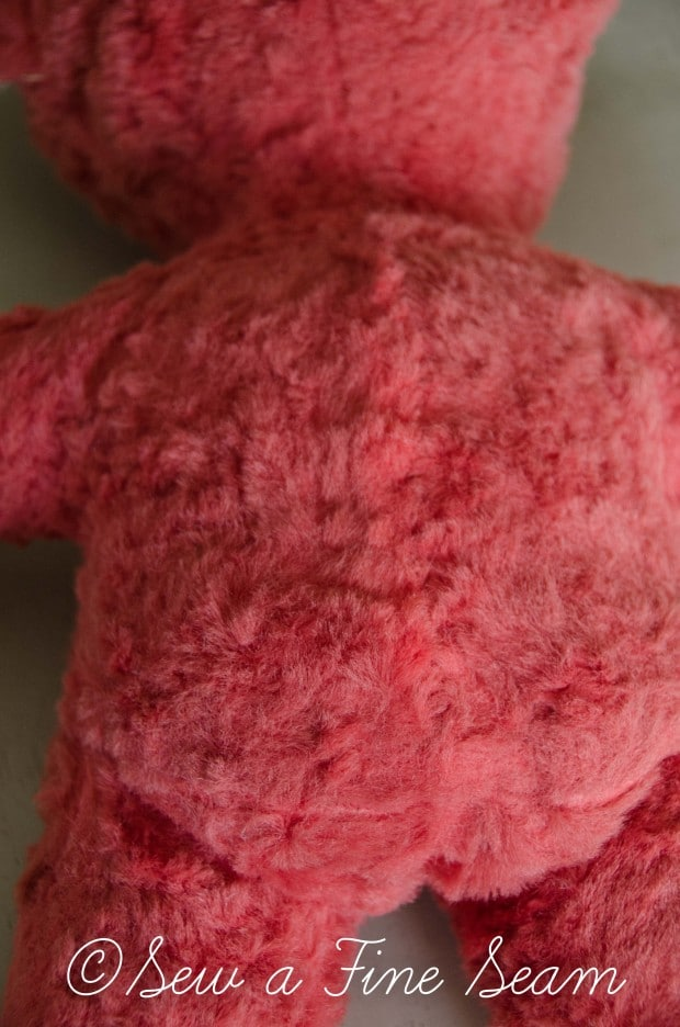 how to clean and restuff a vintage stuffed toy (23 of 28)