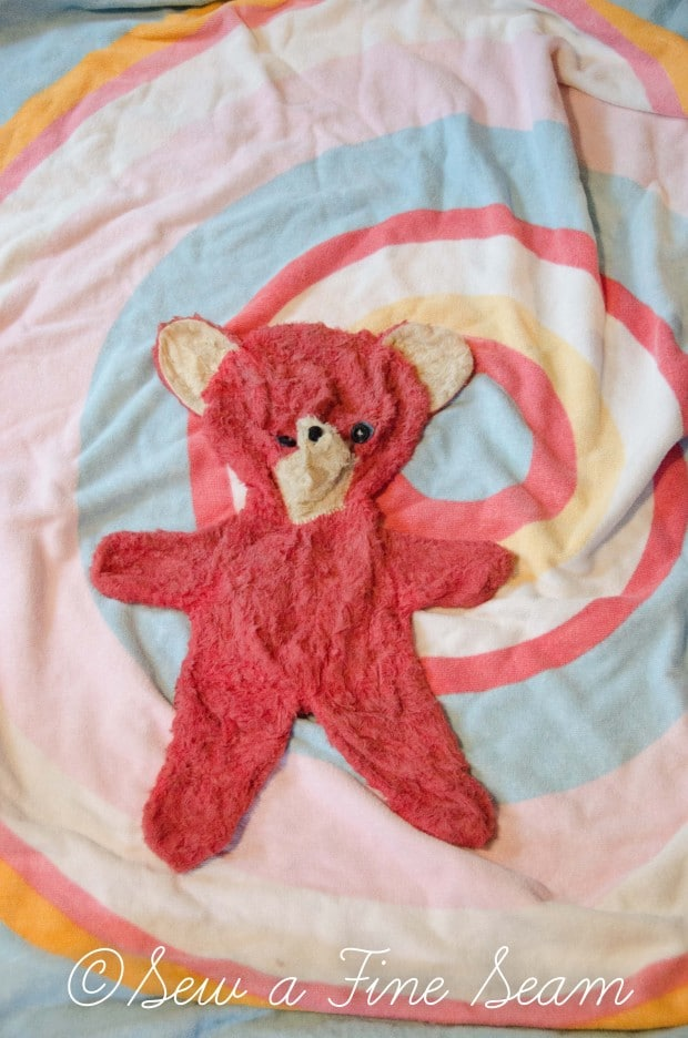 how to clean and restuff a vintage stuffed toy (9 of 28)