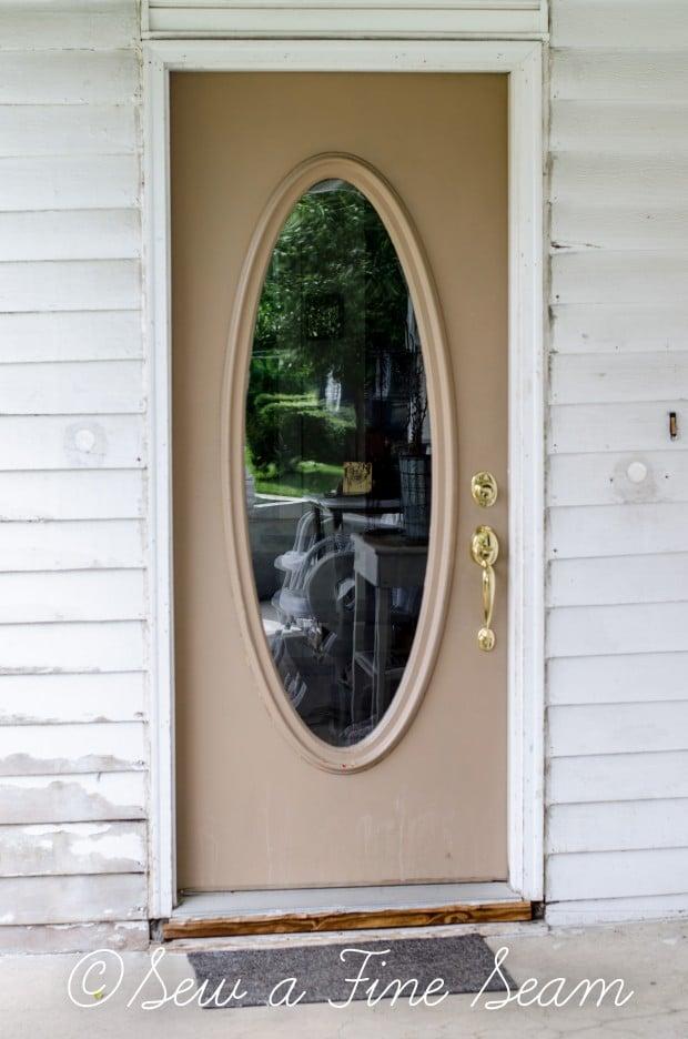 Front Door Paint Sew A Fine Seam