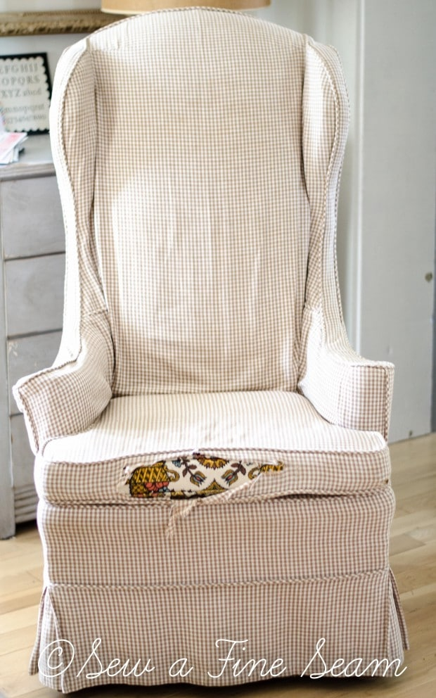white and grey dot slipcovered chairs (6 of 1)