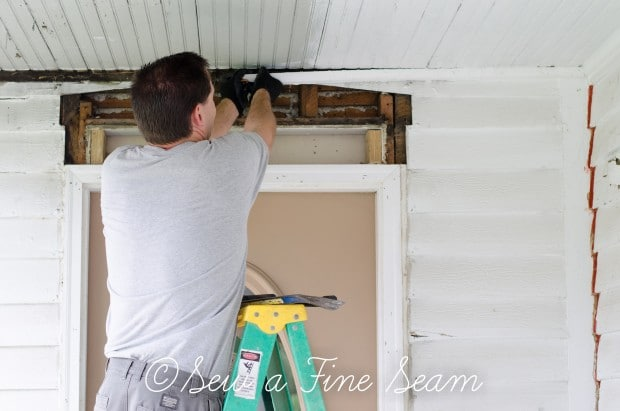 adding trim to an exterior door (5 of 18)