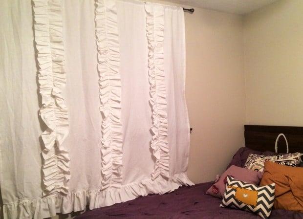 white ruffled curtains (3 of 3)