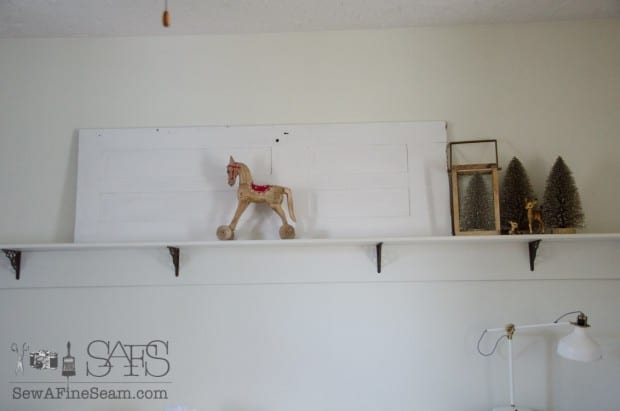 decorating a 12 ft shelf (5 of 11)