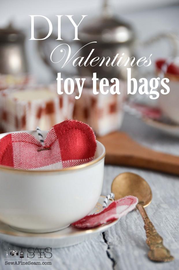 DIY handmade toy tea bags - tutorial included!
