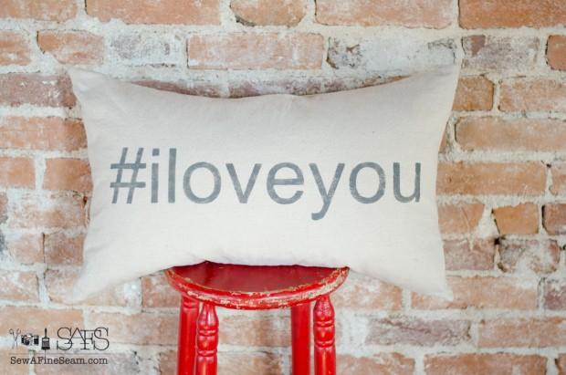 sew a fine seam pillows