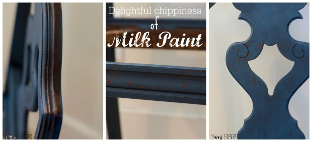 milk paint chippiness