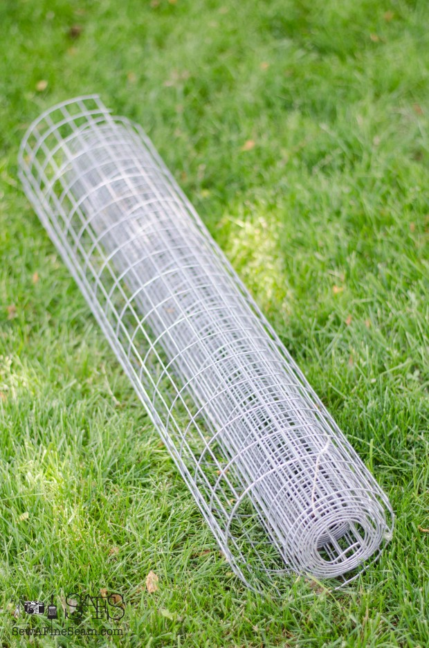 roll of fencing for project