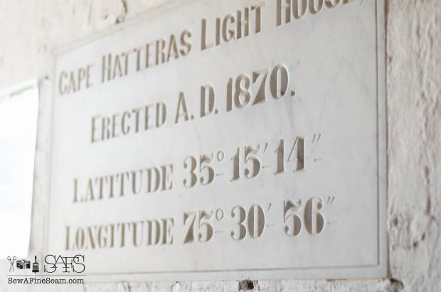 latitude longitude of hatteras lighthouse