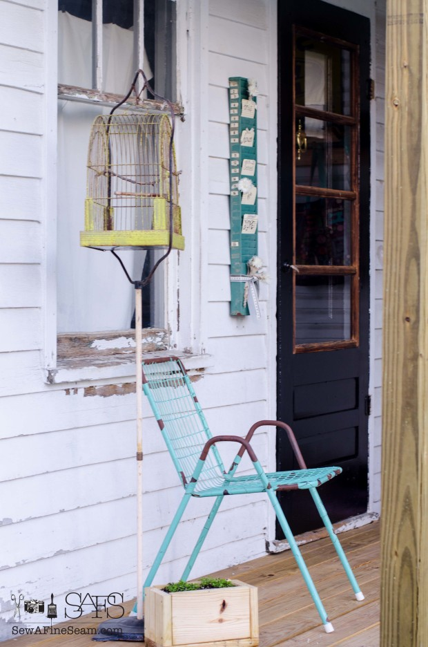 summertime porch decor