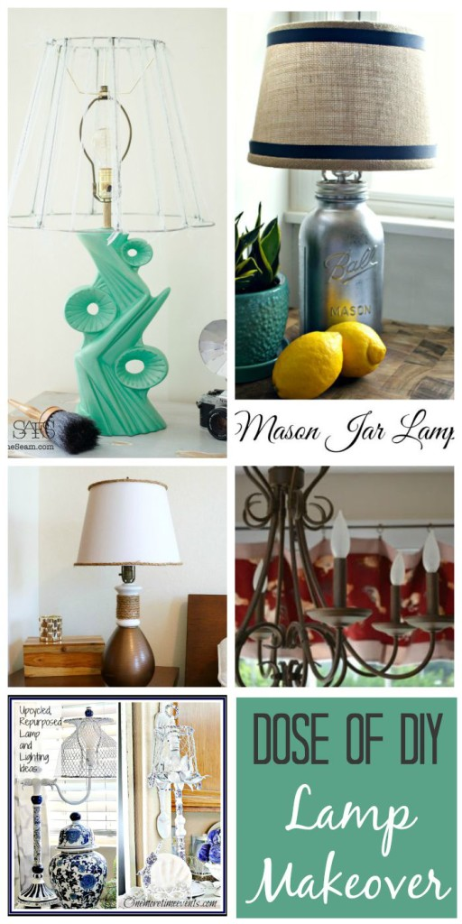 5 lamp makeovers