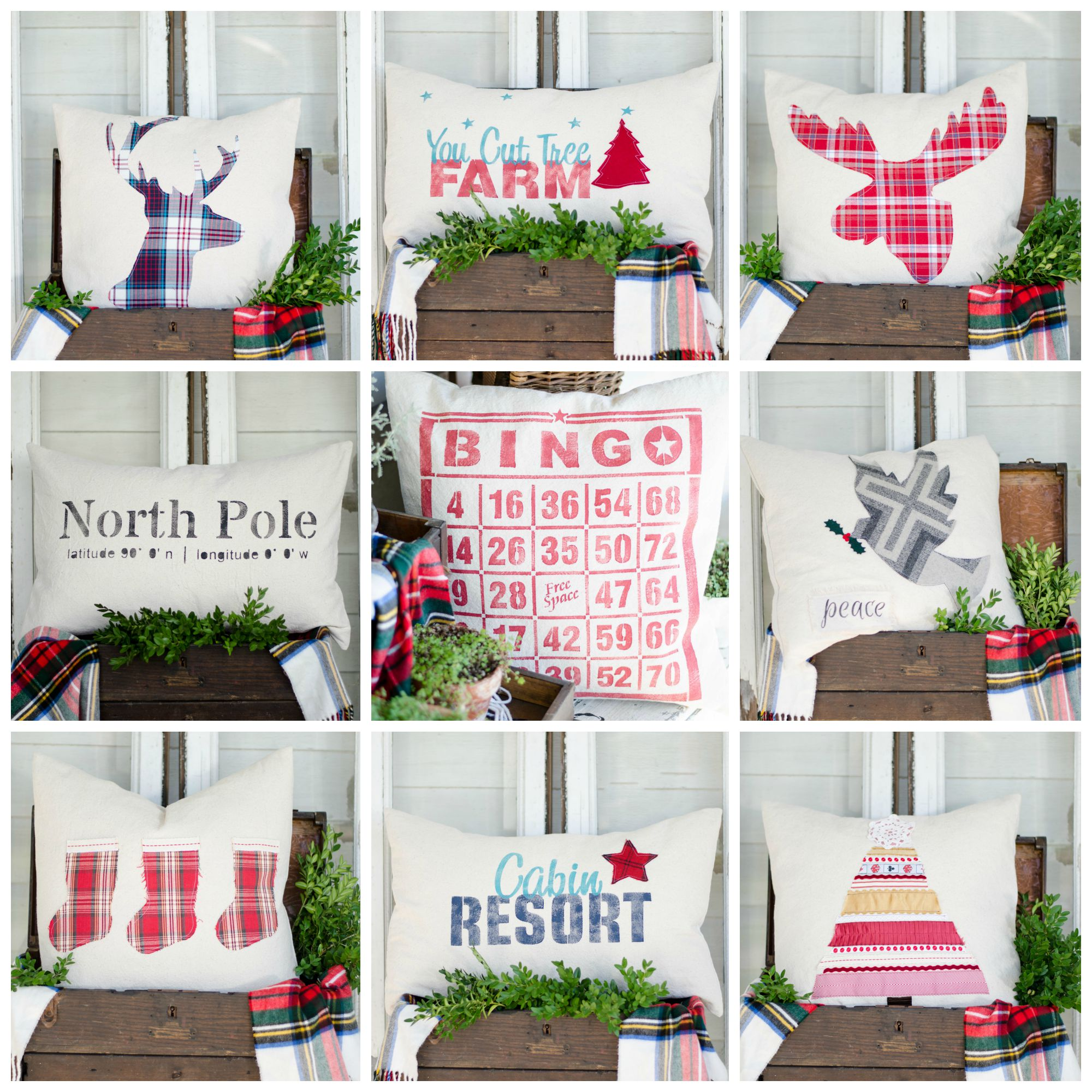 christmas pillows available for wholsale purchase by business owners - Christmas Wholesale